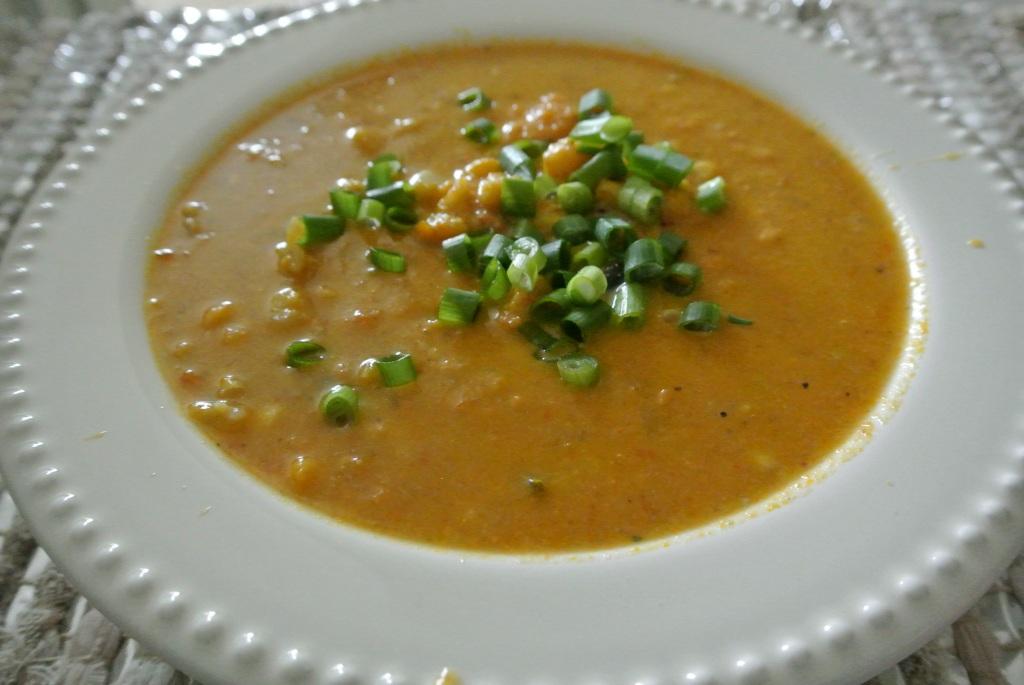 Roasted Sweet Potato Corn Chowder Recipe — Dishmaps