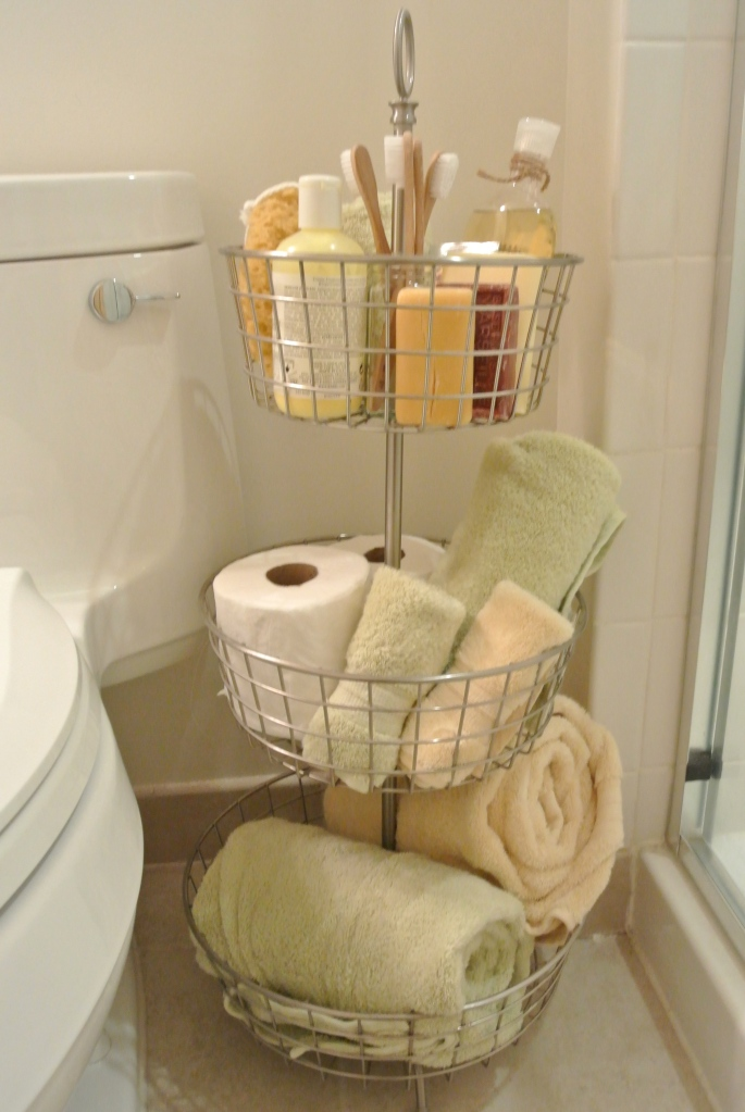 guest bath shower caddy